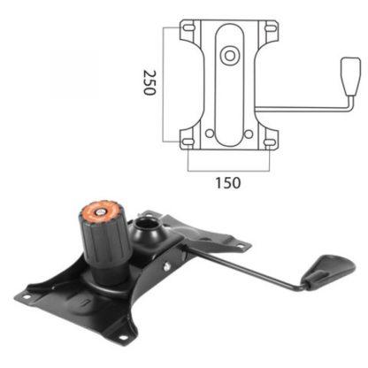 заказать механизм качания для кресла топ ган 2 150*250 мм